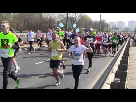 7 Półmaraton Poznań part 2 06.04.2014 (видео)