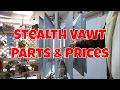 Stealth VAWT Parts and Prices
