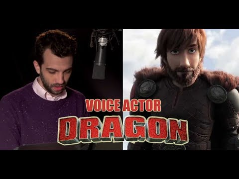 How To Train Your Dragon Voice Actor   Dubbing Voice How To Train Your Dragon