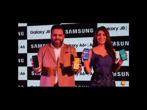 Actress Shriya Saran Launched Samsung Phone