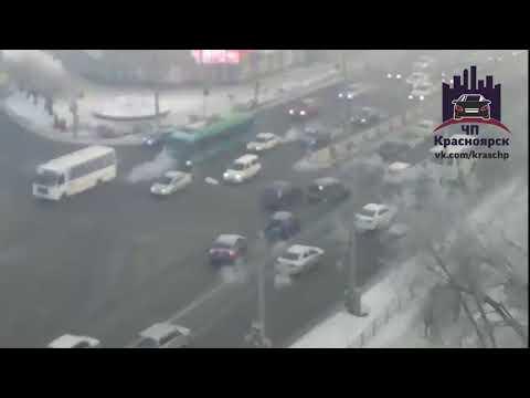 Партизана Железняка - Аэровокзальная 05.02.2018