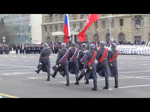 Парад, посвященный 75-летию победы в Сталинградской битве