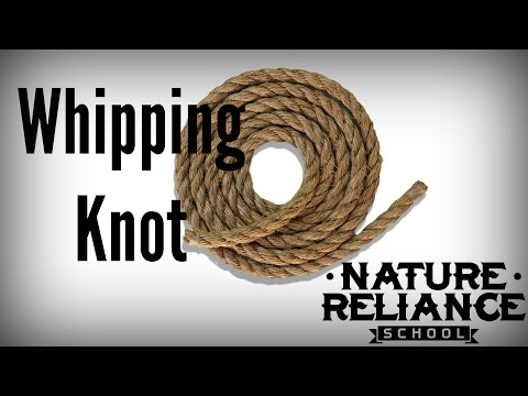 Knot Tying Fix - Whipping Knot