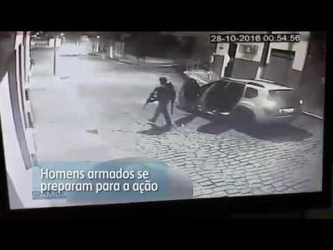 Criminosos explodem caixa eletrônico e amedrontam moradores em Jordânia