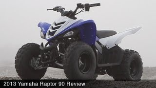 8. MotoUSA Kids ATV Shootout - 2013 Yamaha Raptor 90