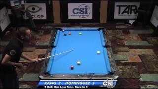 2014 CSI USBTC 9 Ball: Amar Kang Vs Oscar Dominguez