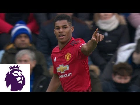 Video: Marcus Rashford puts Man United in front early against Leicester City | Premier League | NBC Sports