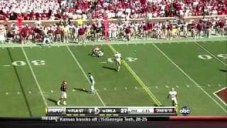 Landry Jones vs FSU (2010)