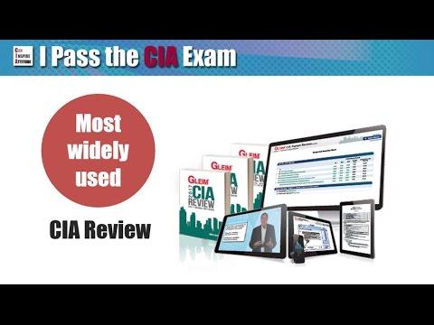 Gleim CIA Exam Review Course Walkthrough (видео)