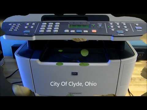 GovDeals: HP LaserJet Pro M2727nf MFP Network Printer/Copier