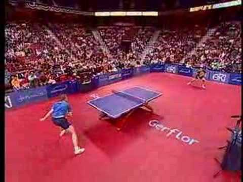 spectacular - HERE'S THE REASON WHY HE DOESN'T TAP IT IN: J.O. Waldner and J. Persson play one of the best points ever. In several Million views, the most frequently asked...
