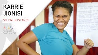 Karri, from the Solomon Islands, helps unemployed girls and single mothers in her community learn new skills, through her project Girls for Change. The Queen's Young Leaders programme discovers, celebrates and supports exceptional young people from across the Commonwealth.Find out more at https://queensyoungleaders.comSubscribe ► http://bit.ly/1gXbQkj Visit Us ► http://comicrelief.comFacebook ► https://facebook.com/comicreliefTwitter ► https://twitter.com/comicrelief-------------------------------------------Thanks for all your support - sharing the video and leaving a comment is always appreciated. Please respect each other in the comments!Donate: https://www.comicrelief.com/donateOur mission is to drive positive change through the power of entertainment.© Comic Relief 2017. Registered charity 326568 (England/Wales); SC039730 (Scotland)