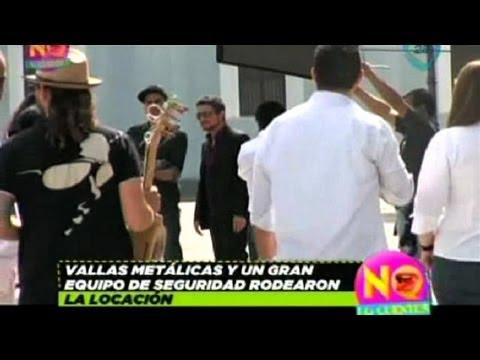 Alejandro Sanz graba en Veracruz su nuevo videoclip, 'Mi Marciana'