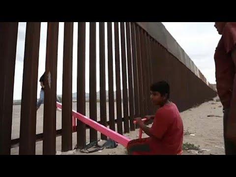 ΗΠΑ-Μεξικό: Οι τραμπάλες στο τείχος του Τραμπ