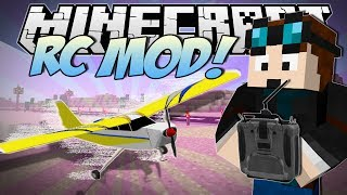 Minecraft | RC MOD! (Remote Controlled Stunt Planes!) | Mod Showcase