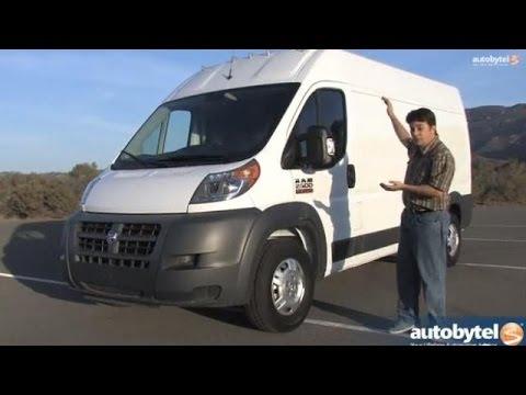 2014 RAM ProMaster 2500 Cargo/Work Van Video Review
