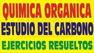 LA QUÍMICA ORGÁNICA Y EL ESTUDIO DEL CARBONO PREGUNTAS RESUELTAS