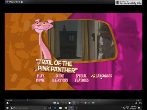 (REQUEST) Trail of the Pink Panther 2004/2005 DVD Menu Walkthrough