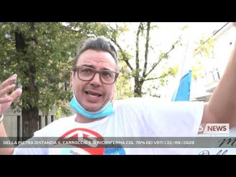 DELLA PIETRA DISTANZIA IL CARROCCIO E SI RICONFERMA COL 70% DEI VOTI | 22/09/2020