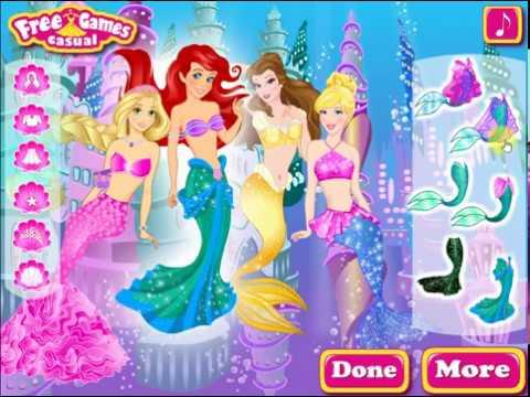 festa no fundo do Mar , jogos de meninas, jogos de princesas, jogos gratis