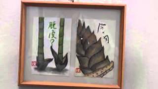 ハガキ絵作品ロビー展(ねぎぼうずの会)