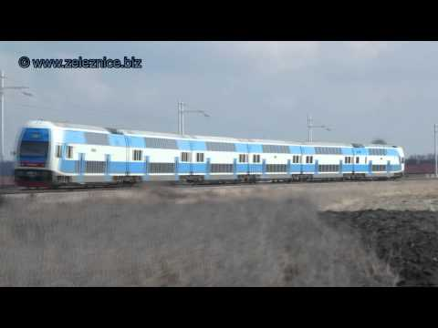 Испытание двухэтажного поезда Skoda Vagonka в Украине - Центр транспортных стратегий