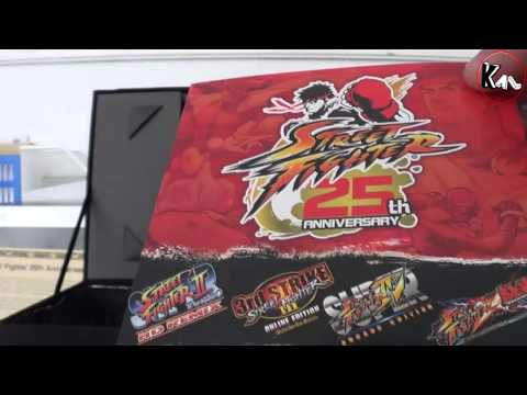 Unboxing Street Fighter 25th Anniversary collector - Xbox 360 (Us Version)