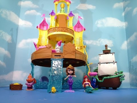 SOFIA THE FIRST Disney Junior Sofia Sea Palace Disney Junior Sofia Mermaid Sea Palace