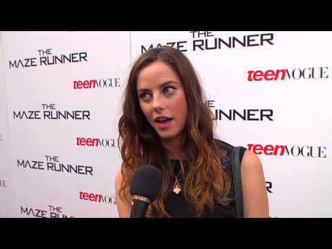 "The Maze Runner: Kaya Scodelario ""Teresa"" Premiere Movie Interview"