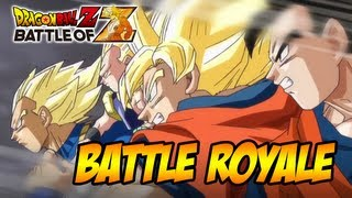 Dragon Ball Z: Battle of Z - PS3/X360/PSVITA - Battle Royal (Trailer Tokyo game Show 2013)