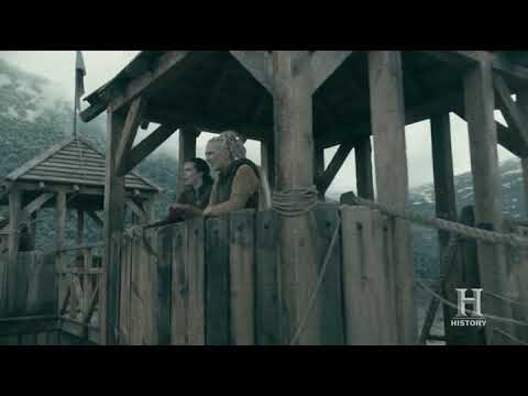 Vikings S05E01 - Harald returns to Kattegat