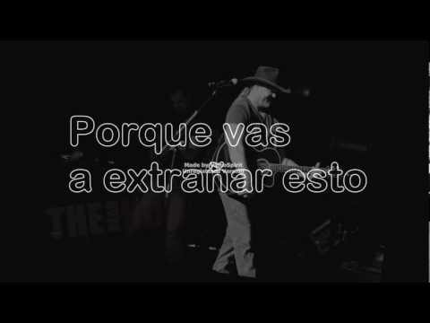 You're gonna miss this - Trace Adkins (Español)