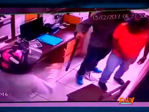 Dois homens assaltam agência responsável pelas balsas em Xambioá