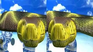 Vídeo 3D - Cobra Sai Realmente Da Tela - Ki Medo
