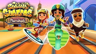 Join the Subway Surfers World Tour! Download for free on Android, iOS, Windows 10 and Kindle Fire right here: http://bit.ly/SubSurfFBSubway Surfers World Tour - Marrakesh:★ Follow Jake and the crew on the World Tour to Morocco★ Dash through hot deserts and secret gardens in magnificent Marrakesh★ Team up with Salma the mysterious snake charmer and unlock her Nomad Outfit★ Strike through the Subway on the stunning Cobra board★ Pick up colorful tajines on the tracks to win great Weekly Hunt prizesDownload for FREE on:Android:http://bit.ly/SubSurf_GooglePlayiOS:http://bit.ly/SubSurf_AppStoreWindows 10:http://bit.ly/SubSurf_WPstoreKindle Fire:http://bit.ly/SubSurf_Amazon