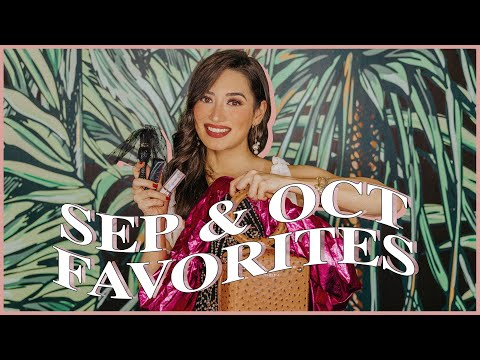 September and October Favourites | Nicole Andersson видео
