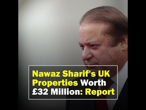 Sharif Family's 'Swankiest' UK Empire Worth 32 Million Pounds: Report