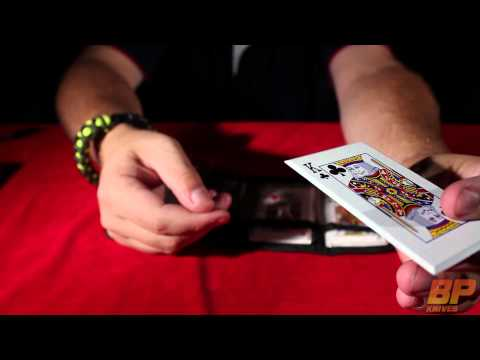 Joker's Wild Stainless Steel Throwing Cards