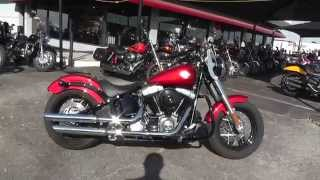 4. 036082 - 2013 Harley-Davidson Softail Slim FLS - Used Motorcycle For Sale
