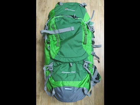 MountainTop Outdoor Equipment Company, Adventure 80L Pack - Review (видео)