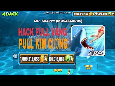 HACK GAME Hungry Shark FULL VÀNG - KIM CƯƠNG - Thời lượng: 6 phút, 52 giây.