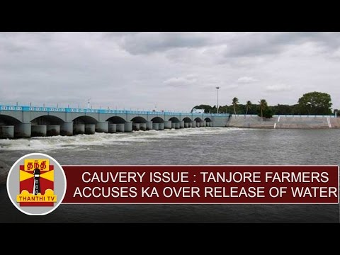 Cauvery-issue--Tanjore-Farmers-accuses-Karnataka-over-disrespect-of-SCs-order-on-release-of-water