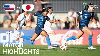 Video USA v. Japan - FIFA U-20 Women's World Cup France 2018 - Match 5 MP3, 3GP, MP4, WEBM, AVI, FLV Maret 2019