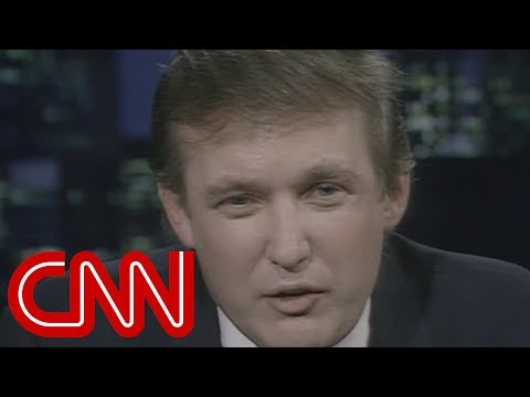 "Donald Trump: ""I Don't Want To Be President"" -  Entire 1987 CNN Interview (Larry King Live)"