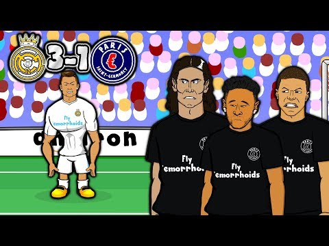 💔MCN - BAD BROMANCE!💔 3-1 Real Madrid vs PSG (Champions League 2018 Goals Highlights Parody)