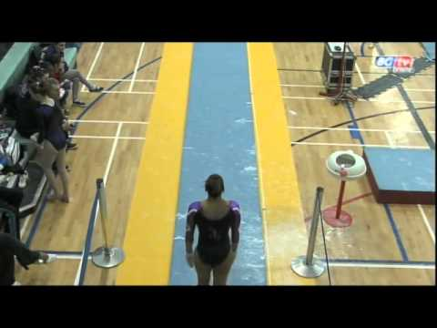 Becky Downie - British Team Championships- Vault