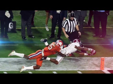 2016 National Championship Full Highlights || Alabama vs. Clemson (видео)