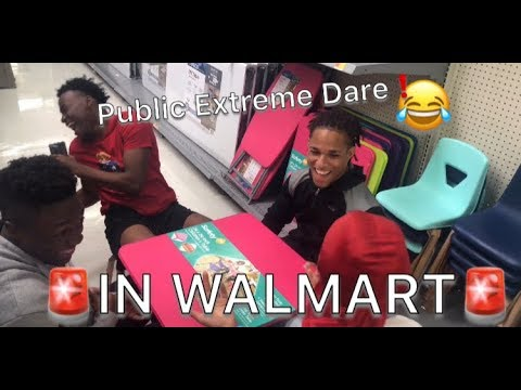 PUBLIC EXTREME DARE! | IN WALMART 😂|