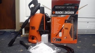 Black&Decker PW1300 TD Pressure Washer