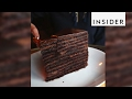 Strip House in NYC makes 24-layer chocolate cake
